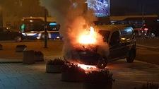 Pożar samochodu w Krakowie! Nastąpił samozapłon?