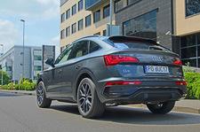 Audi Q5 Sportback 45 TFSI na zdjęciach